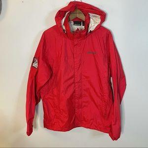 Marmot | Men's Red Lightweight Nylon Rain Jacket L